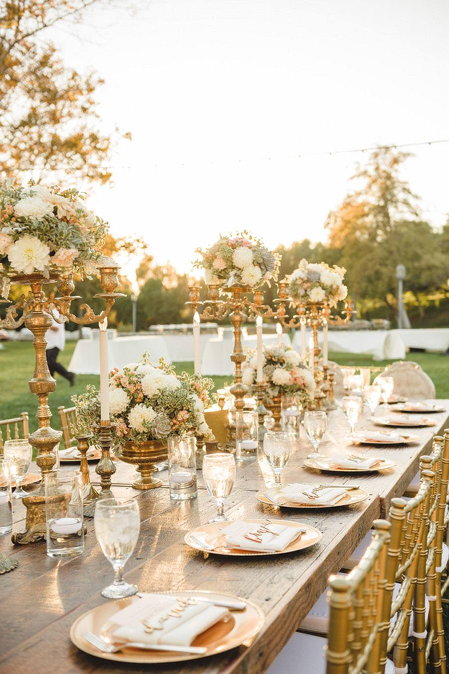 DECORACIÓN DE BODA EN BRONCE decoracion-boda-bronce