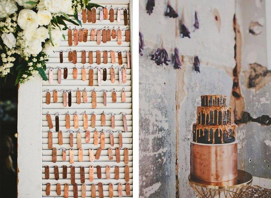 DECORACIÓN DE BODA EN BRONCE decoracion-en-bronce