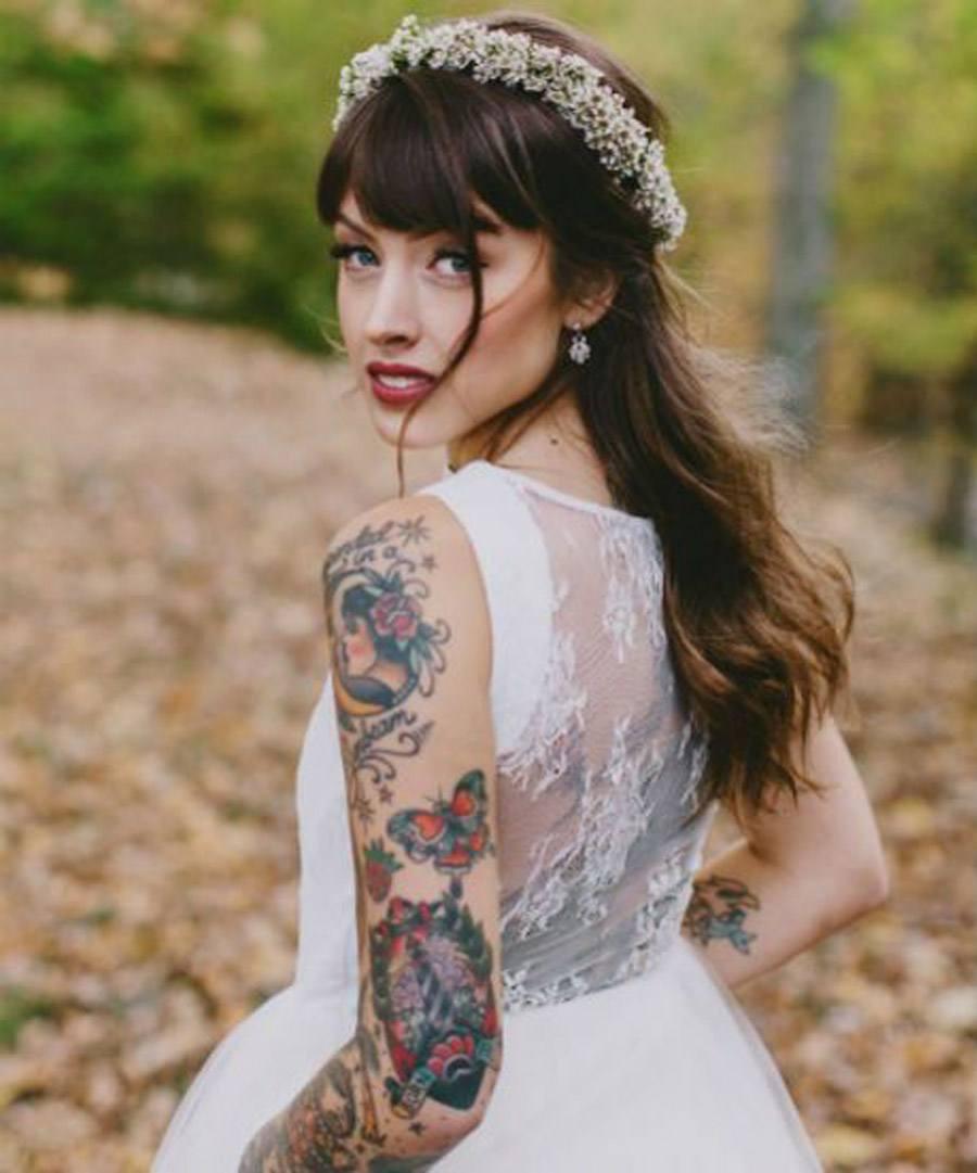 NOVIAS TATUADAS novia-tattoos