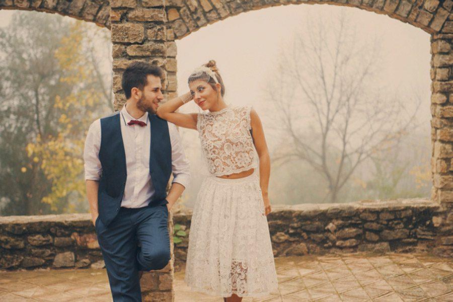 OTOÑO ROMÁNTICO pareja-boda-otono