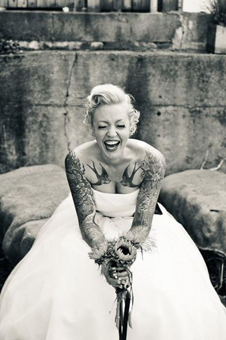 NOVIAS TATUADAS tattoos-de-novia
