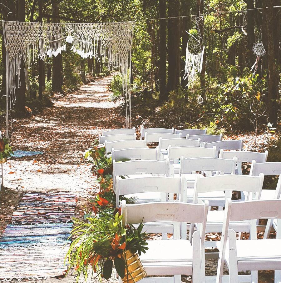 DECORACIÓN DE BODA CON MACRAMÉ bodas-macrame