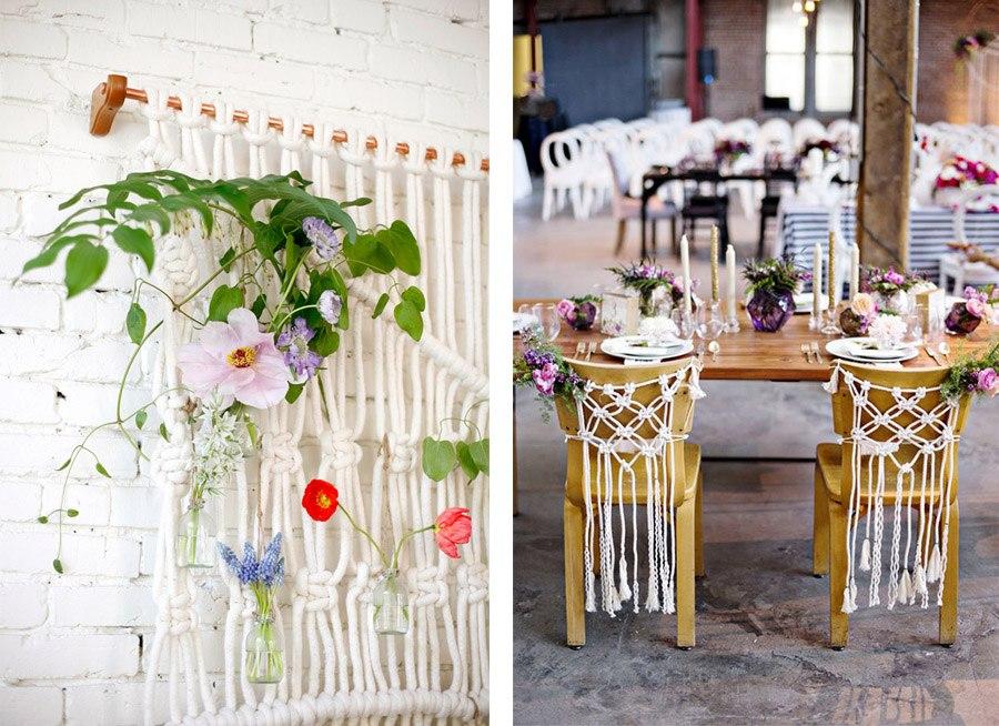 DECORACIÓN DE BODA CON MACRAMÉ decoracion-boda-macrame