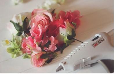 DIY: INICIALES CON FLORES iniciales-flores
