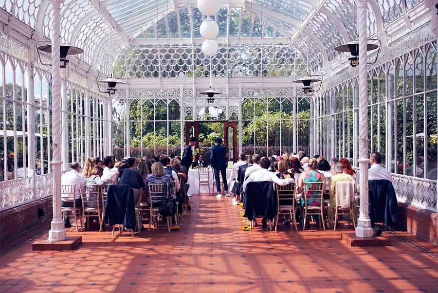 JIM & CHARLIE: BODA EN EL INVERNADERO invernadero-boda