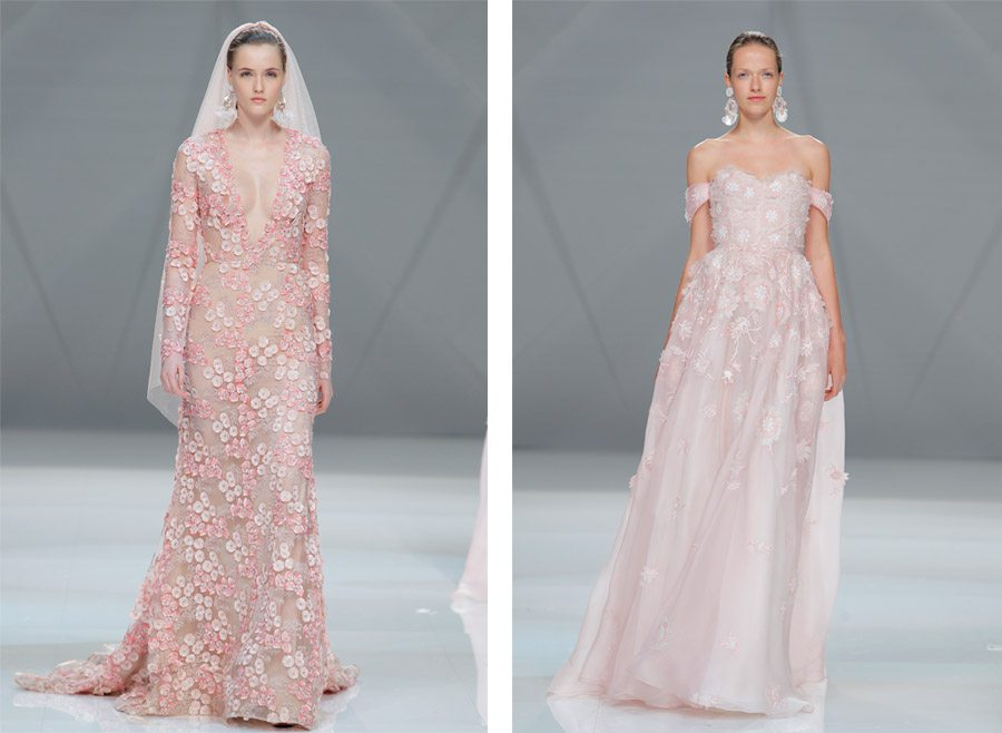 FUSIÓN DE CULTURAS EN EL DESFILE DE NAEEM KHAN naeemkhan-vestidos-novia