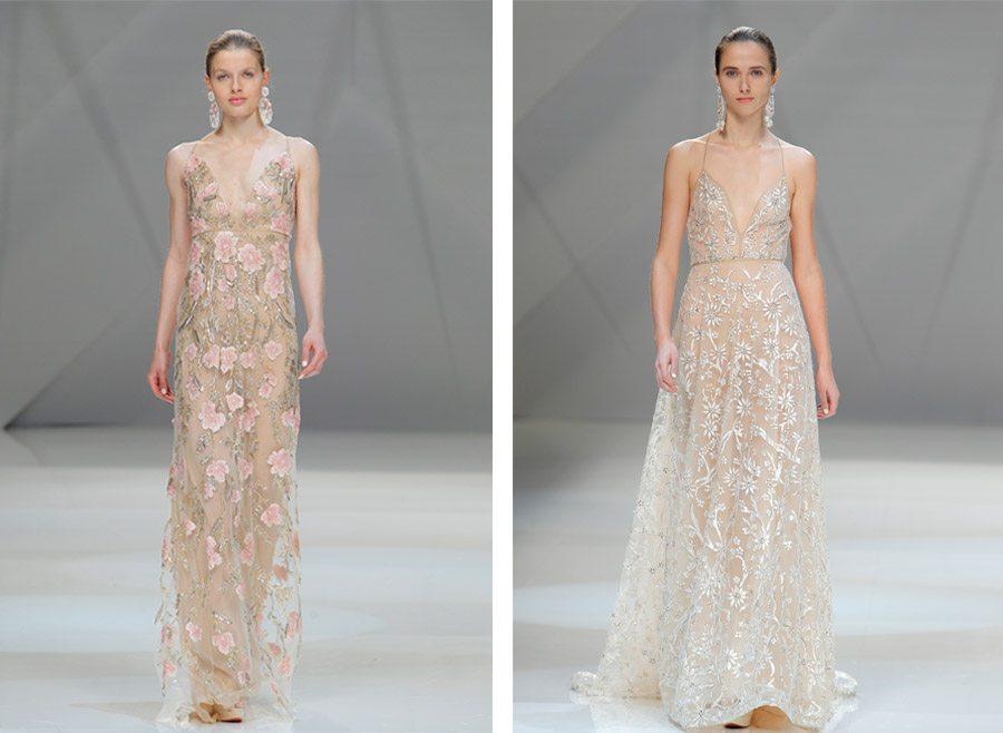 FUSIÓN DE CULTURAS EN EL DESFILE DE NAEEM KHAN vestidos-novia-naeemkhan