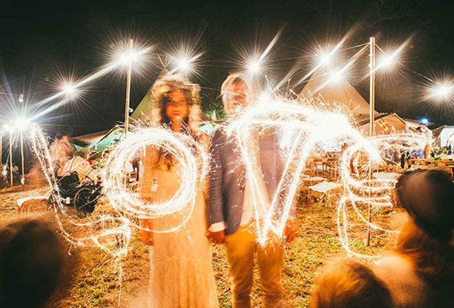TJ & BILLY: UNA BODA RUSTIC-BOHO bodas-estilo-boho