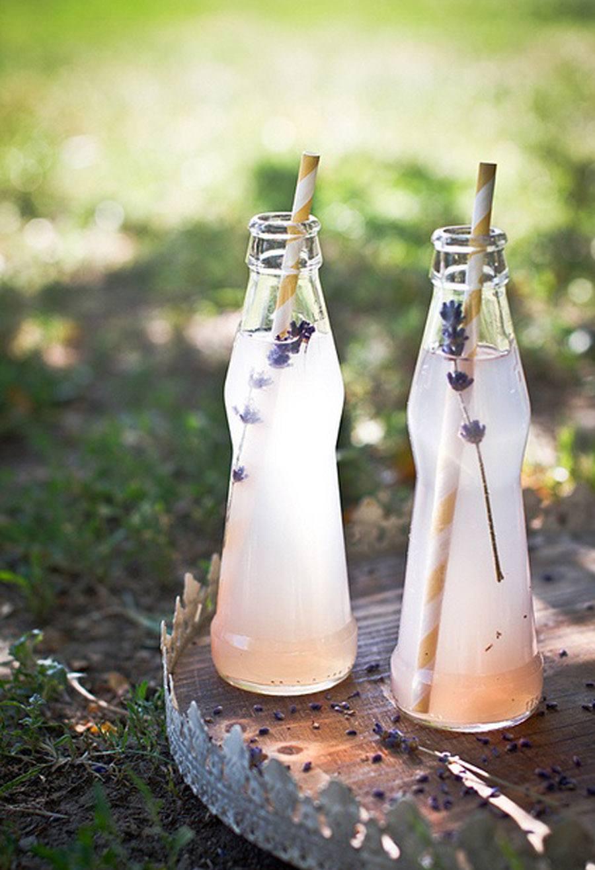 CATERING CON LAVANDA bebida-lavanda