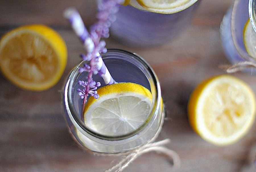 CATERING CON LAVANDA lavanda-bebida