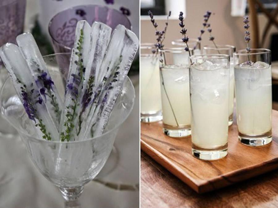 CATERING CON LAVANDA lavanda-limonada