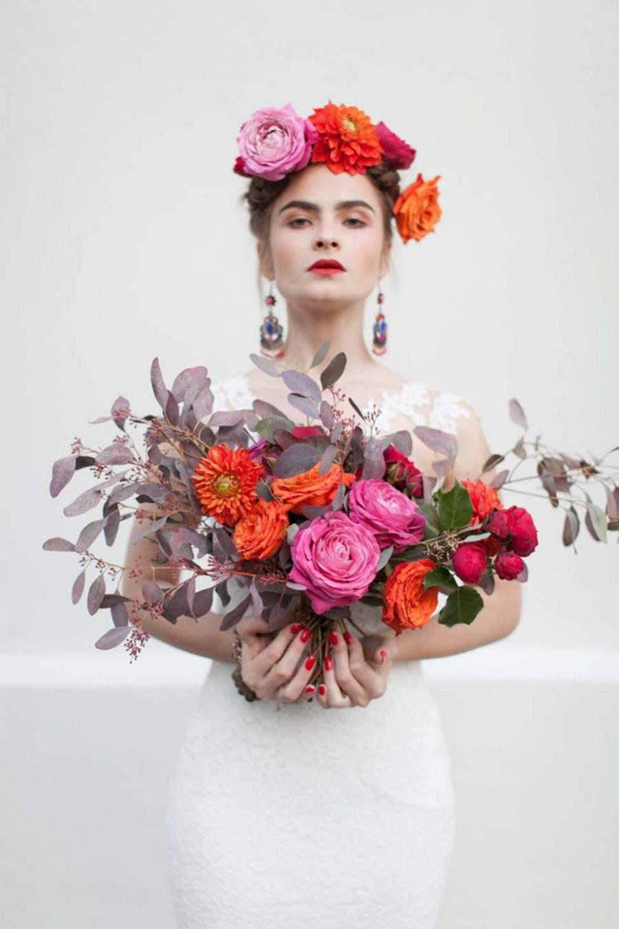 FRIDA KAHLO INSPIRACIÓN novias-frida-kahlo