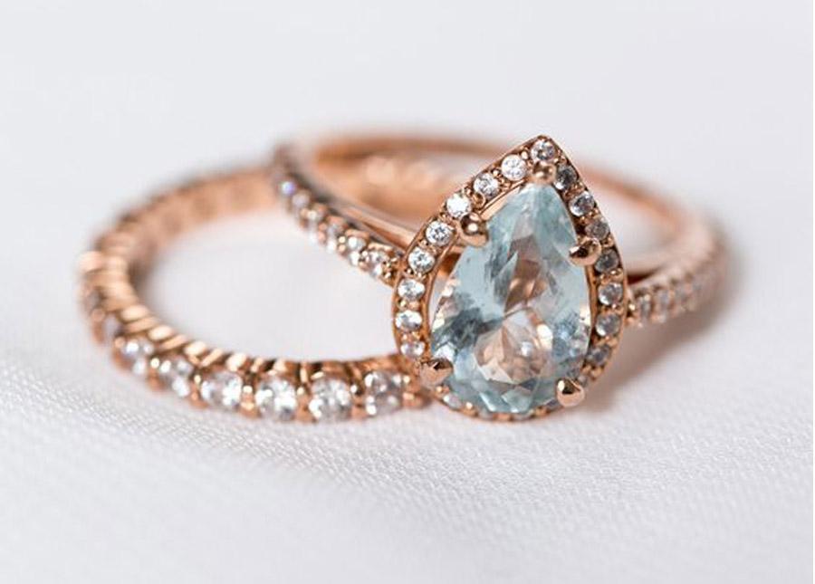 ANILLOS DE COMPROMISO DE ORO ROSA anillos-de-oro-rosa