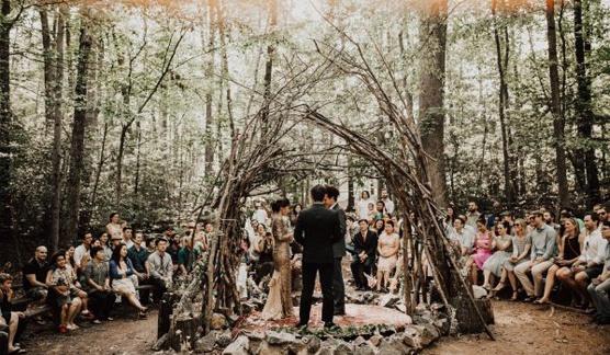 boda-bosque