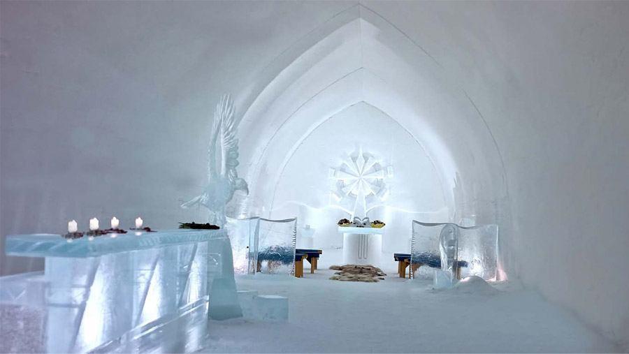 LUNA DE MIEL EN UN IGLÚ DE CRISTAL boda-iglu