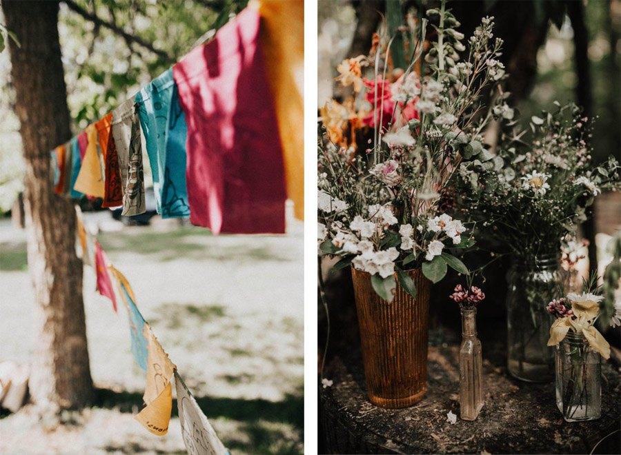 HANNAH & TAI: BODA CON SABOR SALVAJE bodas-en-bosque