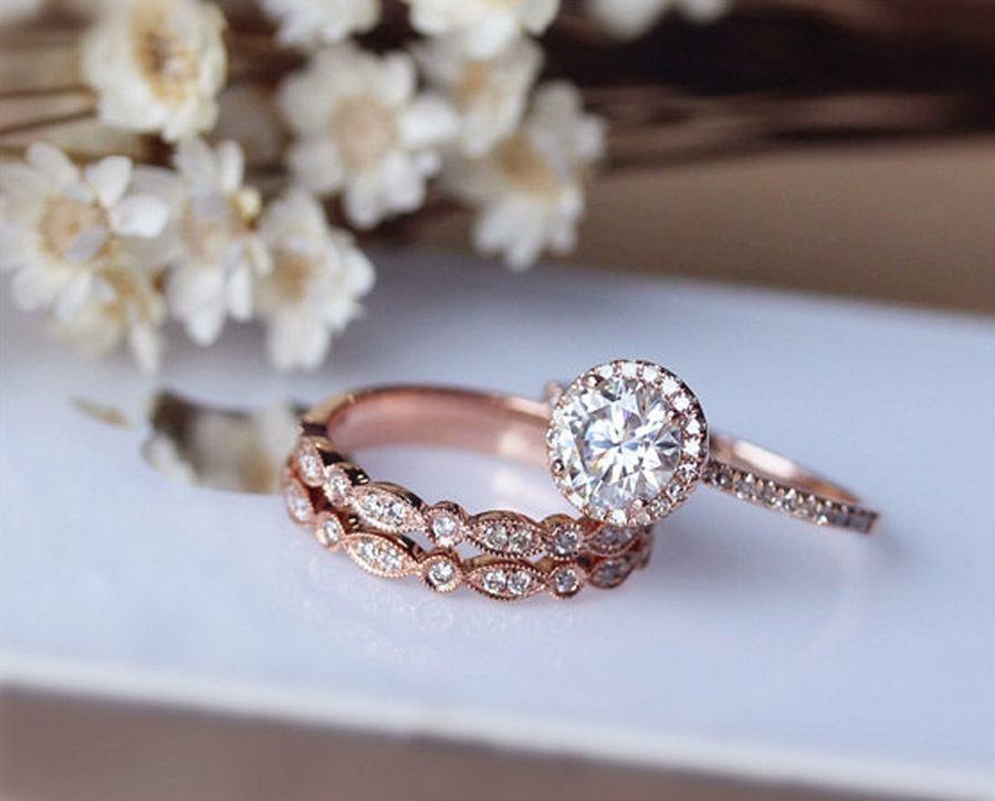 ANILLOS DE COMPROMISO DE ORO ROSA oro-rosa-anillos-boda