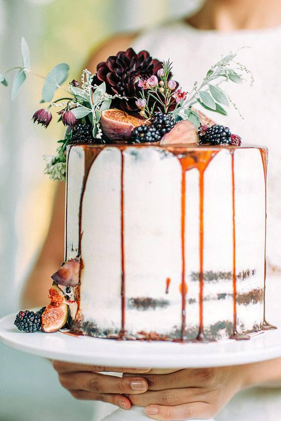 DRIP CAKES pastel-boda