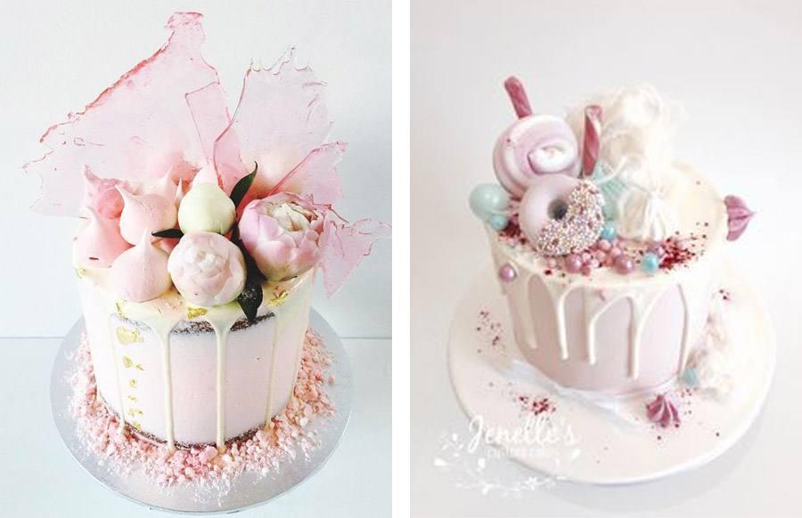 DRIP CAKES pasteles-boda-drip-cake