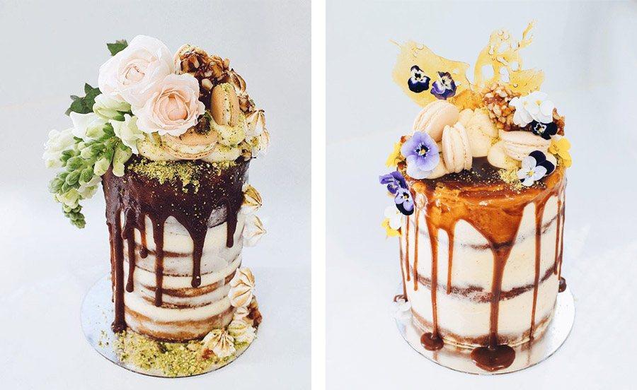 DRIP CAKES pasteles-boda