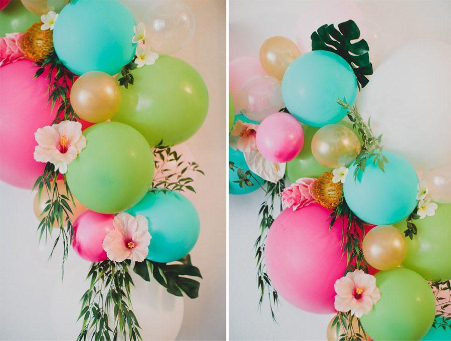 DIY ARCO CON FLORES Y GLOBOS arco-flores-boda