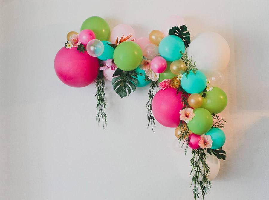 DIY ARCO CON FLORES Y GLOBOS arco-flores-y-globos-boda