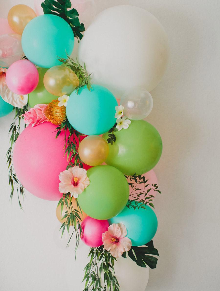 DIY ARCO CON FLORES Y GLOBOS arco-globos-boda