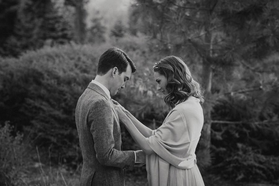 JULIA & JEFFREY: UNA SENCILLA BODA EN EL BOSQUE boda-bosque-picnic