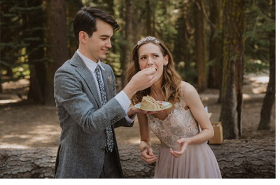 JULIA & JEFFREY: UNA SENCILLA BODA EN EL BOSQUE boda-bosque