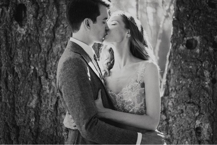 JULIA & JEFFREY: UNA SENCILLA BODA EN EL BOSQUE boda-slow