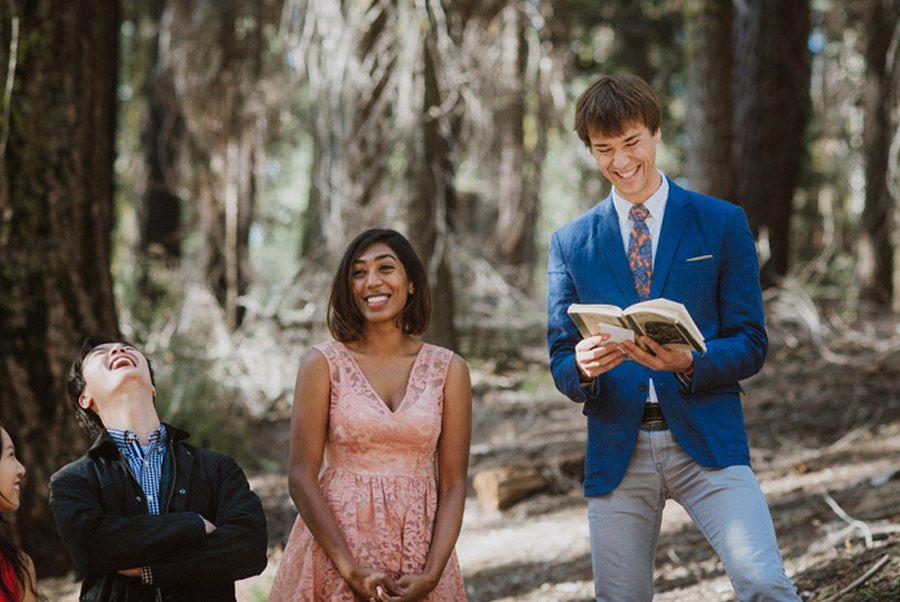 JULIA & JEFFREY: UNA SENCILLA BODA EN EL BOSQUE bodas-en-bosque