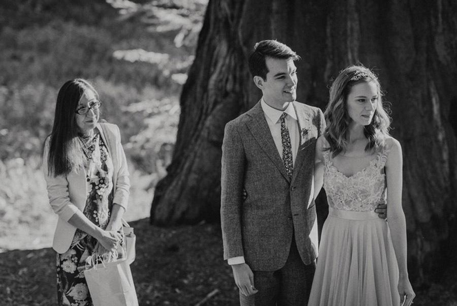 JULIA & JEFFREY: UNA SENCILLA BODA EN EL BOSQUE bodas-slow