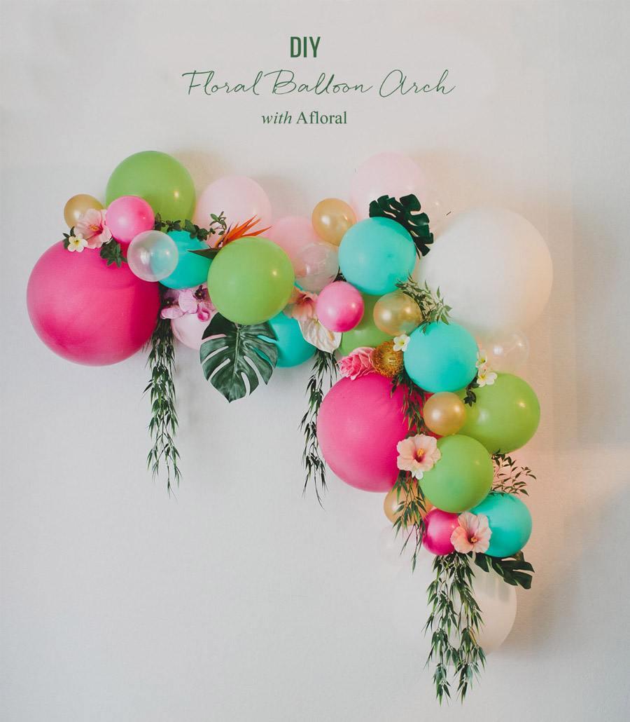 DIY ARCO CON FLORES Y GLOBOS diy-arco-flores-y-globos