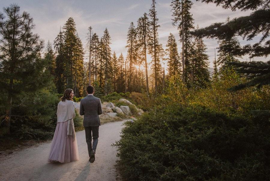 JULIA & JEFFREY: UNA SENCILLA BODA EN EL BOSQUE slow-boda