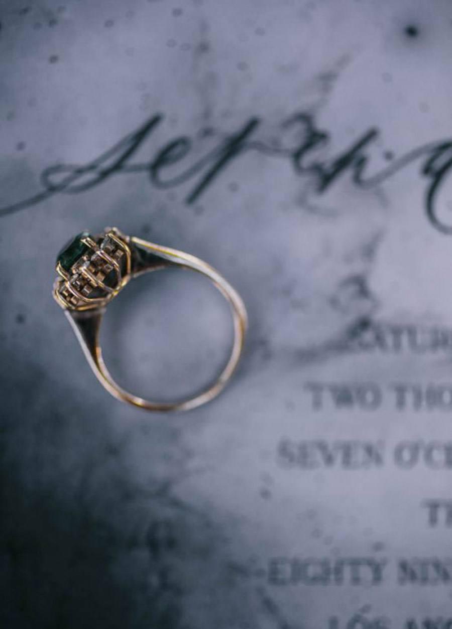 INSPIRACIÓN PARA UNA BODA DE INVIERNO alianzas-boda