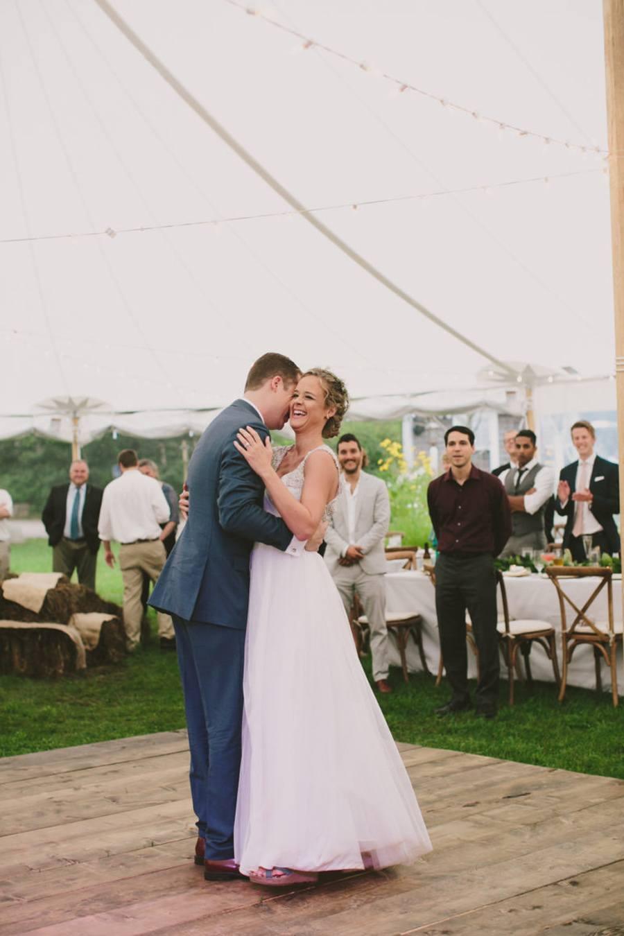 ALEXANDRA & JARED: UNA BODA MUY FAMILIAR baile-boda