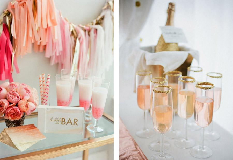 BUBBLY BAR boda-champagne-bar