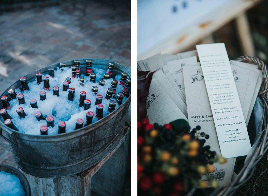 MARTA & ANDRÉS: DULCE BODA DE OTOÑO boda-otoño-decoracion
