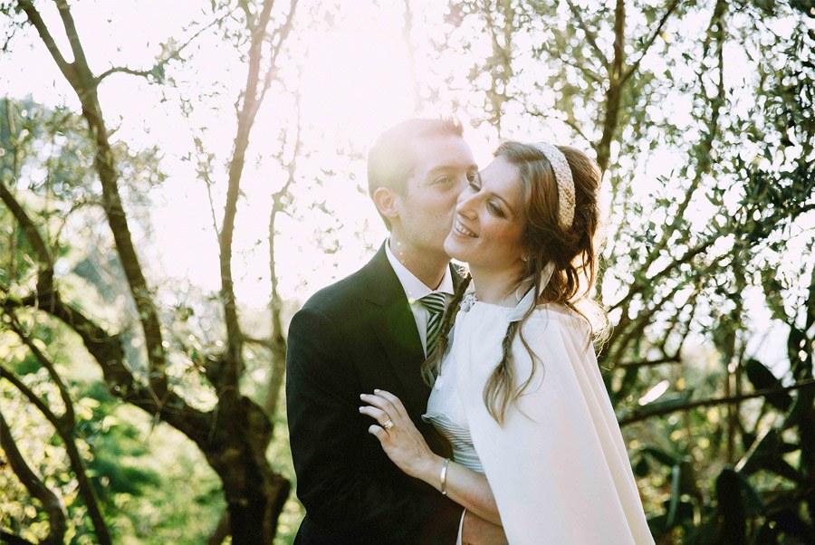 MARTA & ANDRÉS: DULCE BODA DE OTOÑO boda-otoño-novios