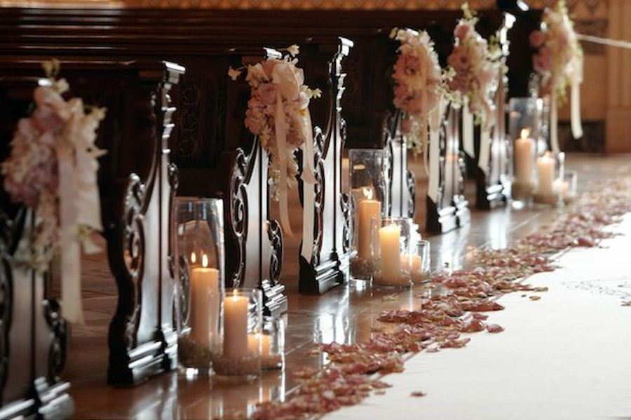 PASILLOS CON VELAS boda-velas