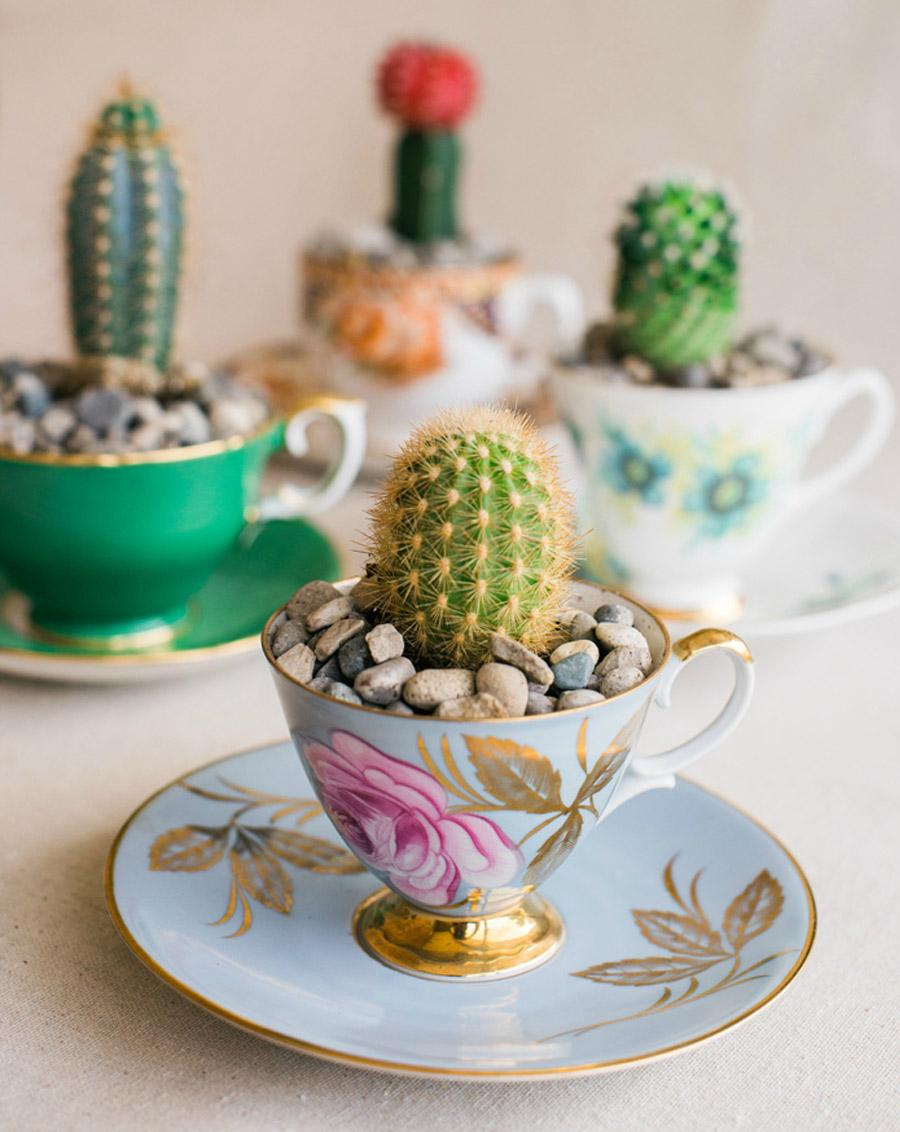 DIY MINI CACTUS EN TAZAS DE TÉ diy-cactus-boda