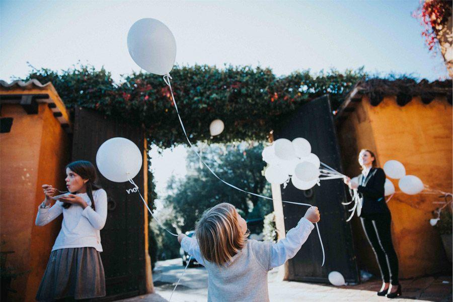 MARTA & ANDRÉS: DULCE BODA DE OTOÑO globos-boda