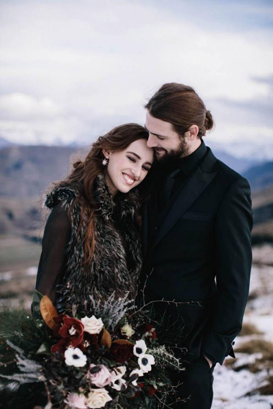INSPIRACIÓN PARA UNA BODA DE INVIERNO invierno-bodas