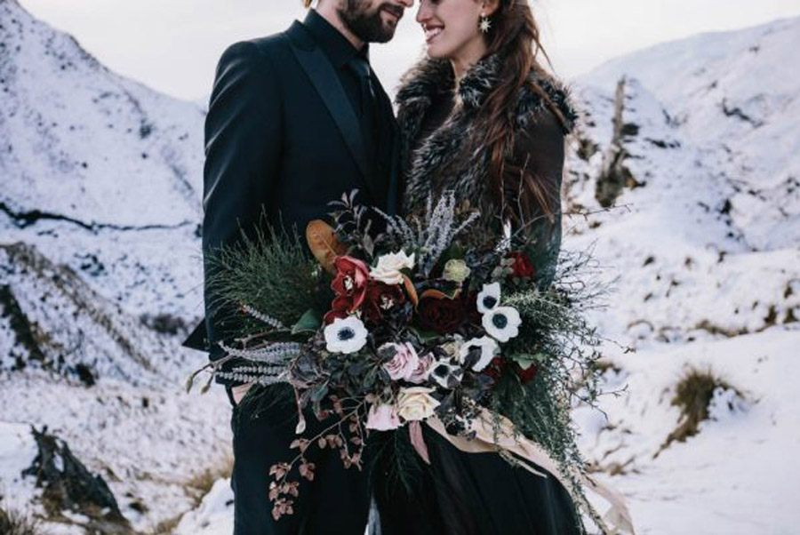 INSPIRACIÓN PARA UNA BODA DE INVIERNO invierno-novios