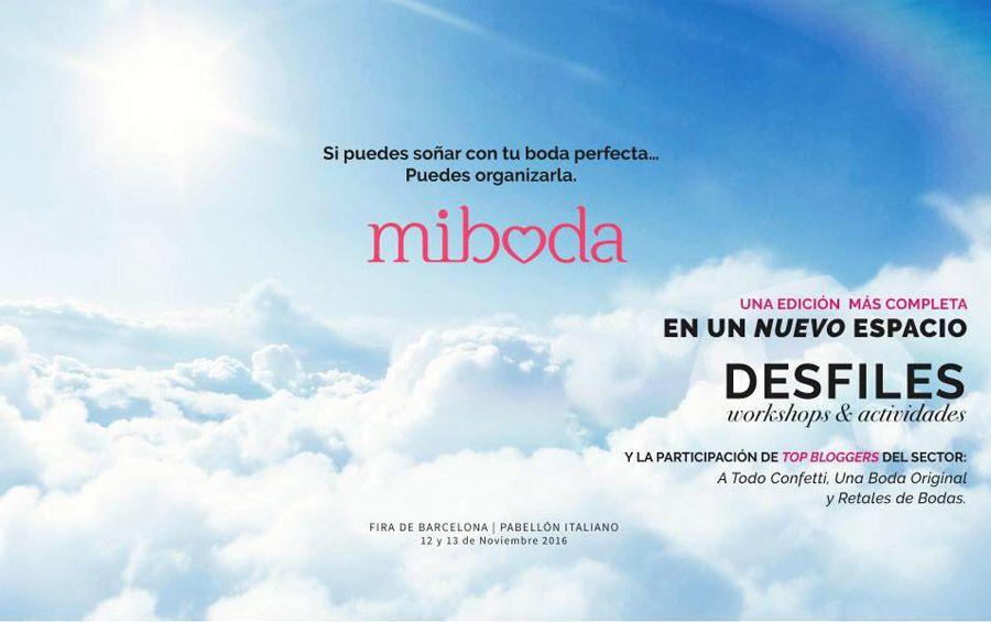VUELVE MIBODA BCN CON UN MONTÓN DE NOVEDADES miboda