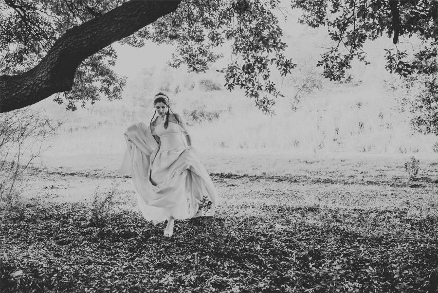 MARTA & ANDRÉS: DULCE BODA DE OTOÑO novia-otoño
