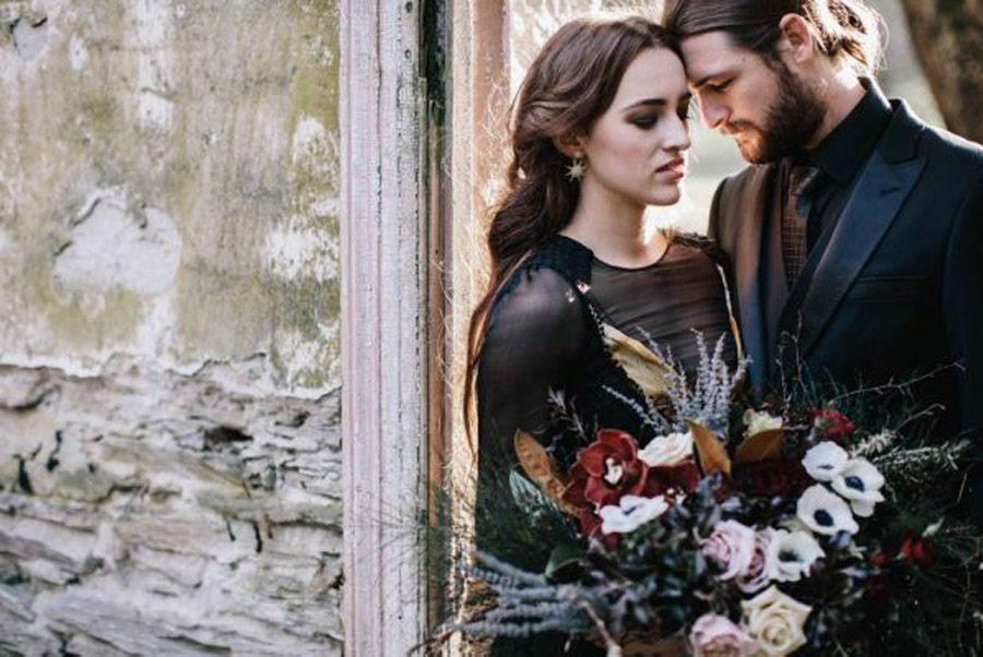 INSPIRACIÓN PARA UNA BODA DE INVIERNO novios-boda-invierno