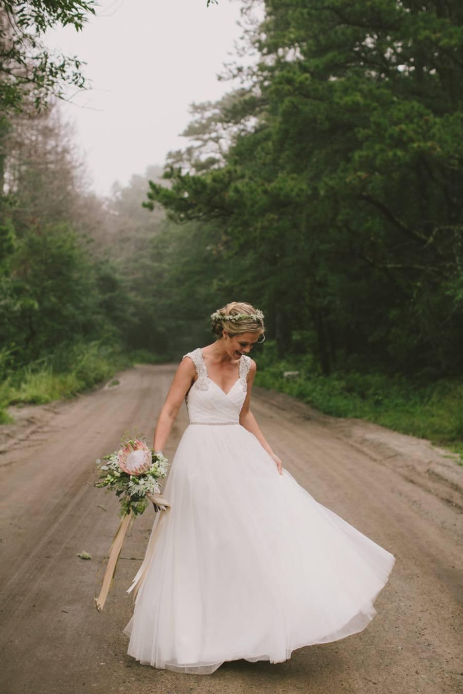 ALEXANDRA & JARED: UNA BODA MUY FAMILIAR vestido-novia