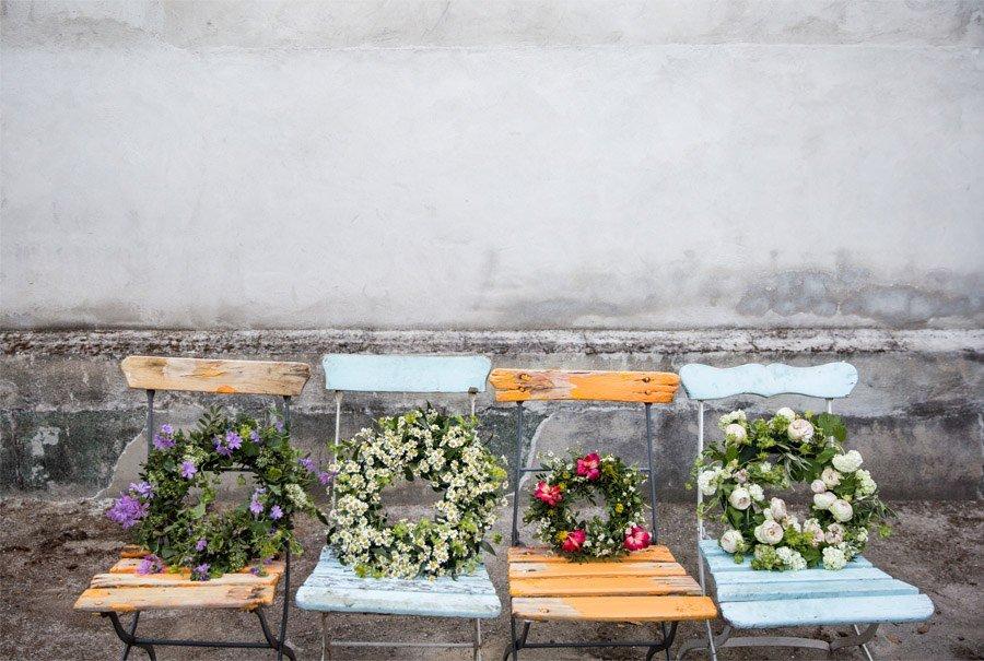 LAS CORONAS DE FLORES DE EL INVERNADERO flores-coronas