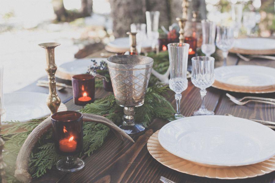 UNA BODA EN NAVIDAD mesa-invierno-decoracion